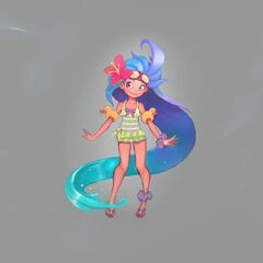 Pool Party Zoe Concept 1 (by Riot Artist <a href=