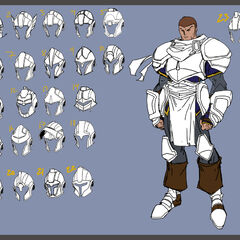 Demacia Soldier Concept 2 (by Riot Artist <a rel=