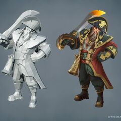 Captain Gangplank Model 1 (by Riot Artists <a href=