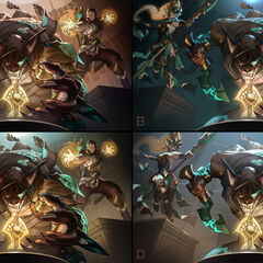 Guardian of the Sands Ryze Splash Concept 2 (by Riot Contracted Artist <a rel=