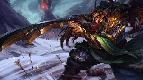 League of Legends - Tryndamere z Walczących Królestw