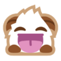 Poro sticker laugh