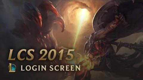 Saison 2015 - Login Screen