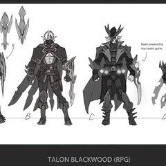 Talon Blackwood Concept 1 (by Riot Artist <a href=