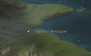 The Iron Pinnacle map