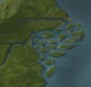 The Serpentine Delta map