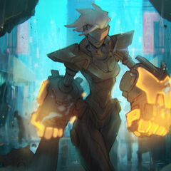 PROJECT: Vi Splash Concept 2 (by Riot Artist <a href=