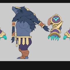 Thunderlord Volibear Update Concept 1 (by Riot Artist <a href=