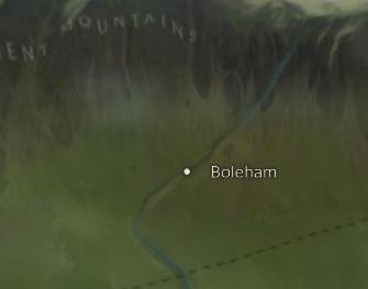 Boleham Map