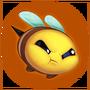 Emotka Wkurzona Pszczółka