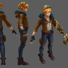 Ezreal Update Model (by Riot Artist <a href=