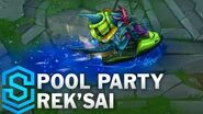 Poolparty-Rek'Sai - Skin-Spotlight