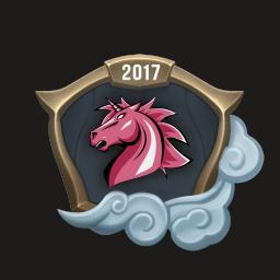 Worlds 2017 Unicorns of Love Emote