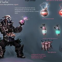 Ziggs Concept 3 - Ivan the Mad Bomber (by Riot Artist <a href=