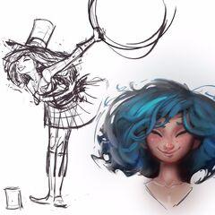 Zoe Concept 1 (by Riot Artist <a href=
