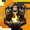 Der Beschützer Einzigartiger Ewiger Symbol