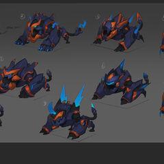 Super Galaxy Gnar Concept 4 (by Riot Artist <a rel=