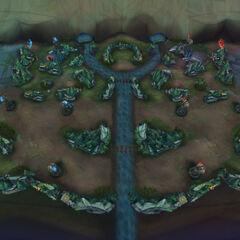 Alpha map of Nexus Blitz