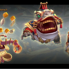 Coin Emperor Tahm Kench Model 3 (by Riot Artist <a href=