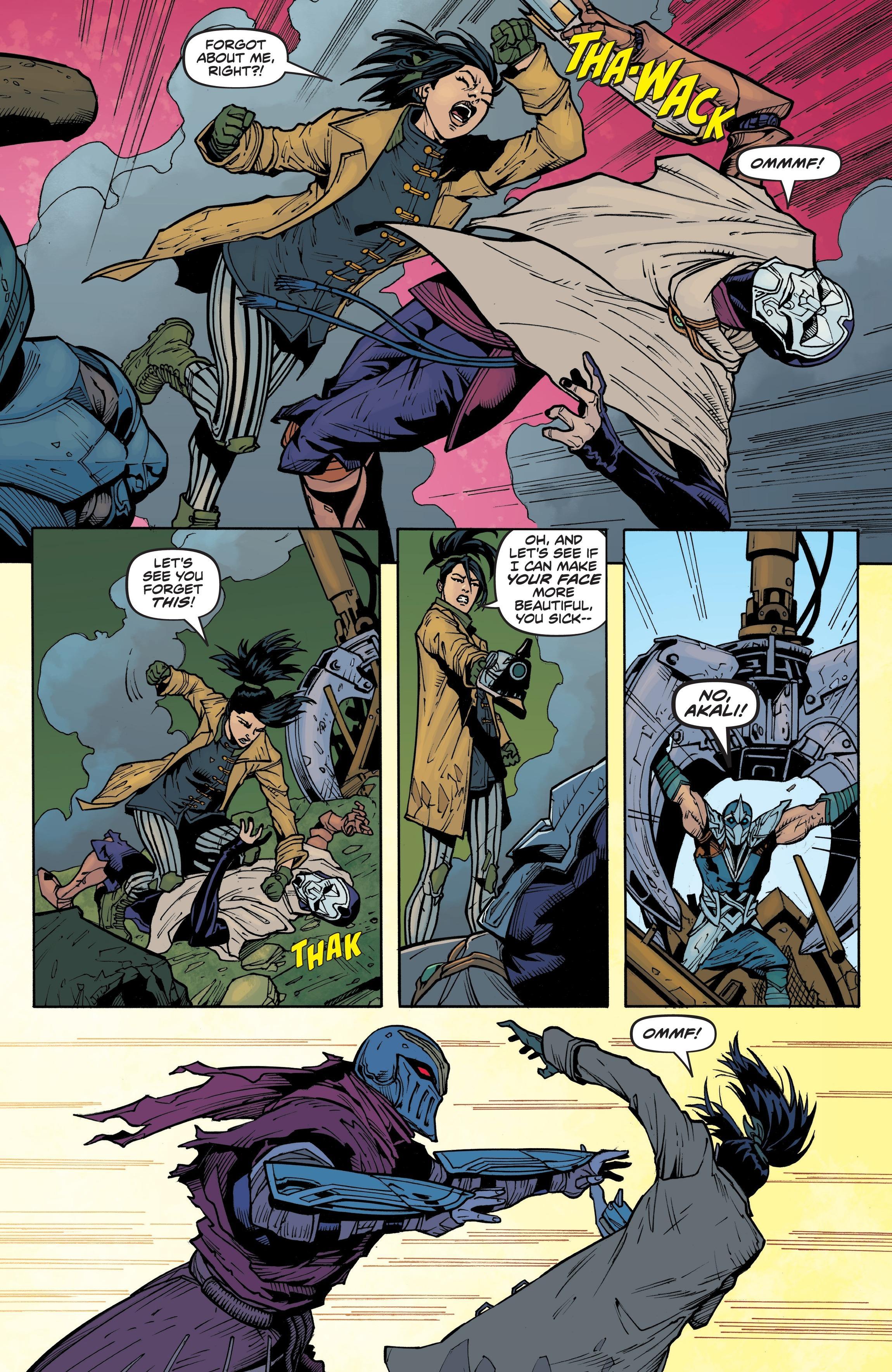 Zed Comic 6 pr10