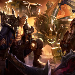 <small>Sea Hunter Aatrox, Rogue Admiral Garen, Ironside Malphite and Corsair Quinn</small>