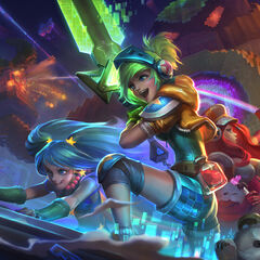 Arcade promotional art (by Riot Artist <a href=