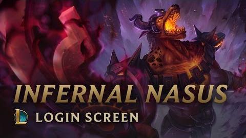 Infernal Nasus - Login Screen
