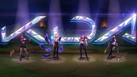 K DA Tráiler Oficial de Aspectos - League of Legends