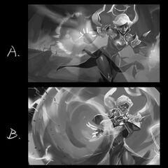 Conqueror Karma Splash Concept 1 (by Riot Artist <a href=