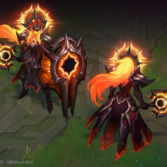 Leona Eclipse Concept 3 (by Riot Artist <a href=