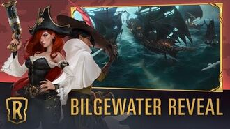 New Region Bilgewater Legends of Runeterra