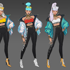 True Damage Qiyana Concept 6 (by Riot Artist <a href=
