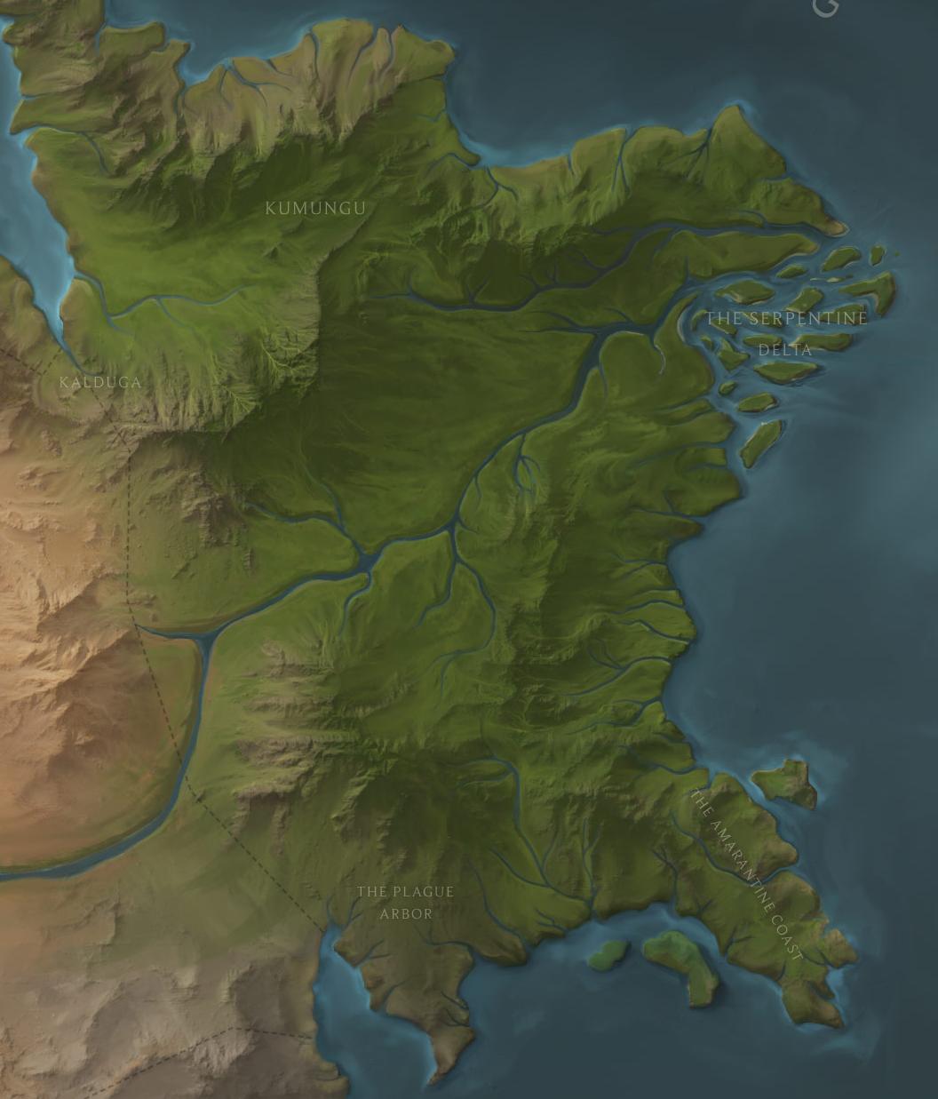 Shuriman jungles map