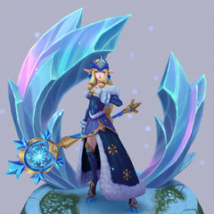Winter Wonder Soraka Model 2 (by Riot Artist <a href=