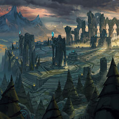 Summoner's Rift Update Landscape 4 (by Riot Artist <a href=