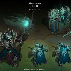 Gravelord Azir Concept (by Riot Artist <a href=