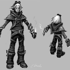 Ezreal Concept 2 (by Riot Artist <a href=
