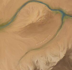Khaleek River map