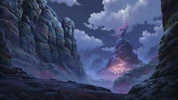 Seelenblumen Der Pfad, eine ionische Sage Konzept 09