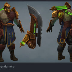 Chemtech Tryndamere Model (by Riot Artist <a rel=