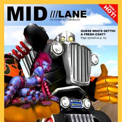 Grafika promocyjna Blitzcranka z Piltover Customs