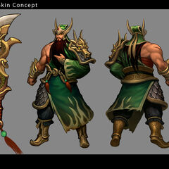 Warring Kingdoms Tryndamere Concept 1 (by Riot Artist <a href=