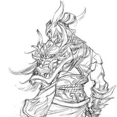 Warring Kingdoms Tryndamere Concept 2