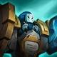 Blue Super MinionSquare
