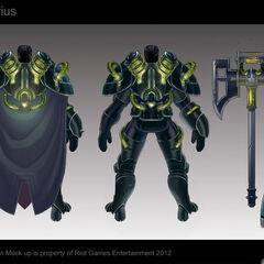 Bioforge Darius Concept (by Riot Artist <a href=