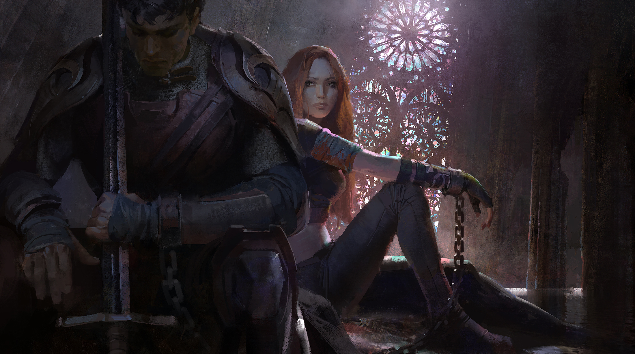 Garen Katarina EnemyofmyEnemy Cinematic concept 13