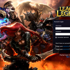 Old Login interface