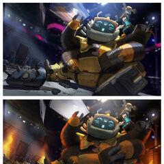 Nunu & Willump Bot Splash Update Concept 4 (by Riot Artist <a rel=