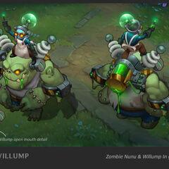 Zombie Nunu & Willump Update Concept 1 (by Riot Artist <a href=