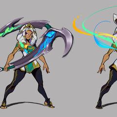 Qiyana Concept 6 (by Riot Artist <a href=